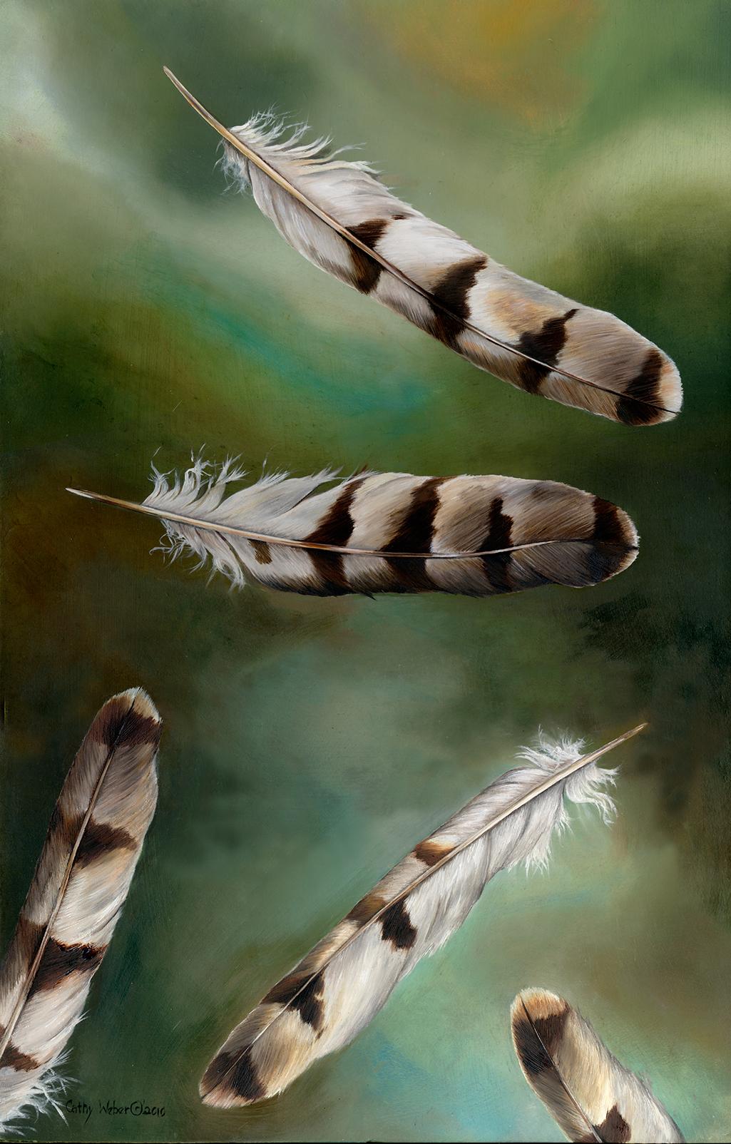 cathy weber - art - painting - woman - oil - montana - oil - object