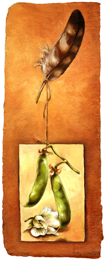 cathy - weber - artmaker - art - woman - oil - montana - painting - oil -poem - object - stone - card - notecard