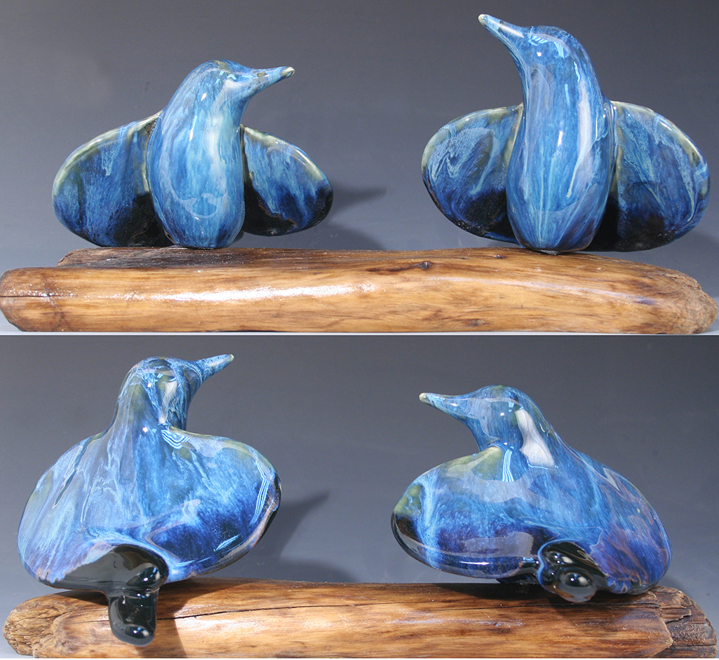 cathy weber - art - clay- woman - montana - ceramic - porcelain - bird